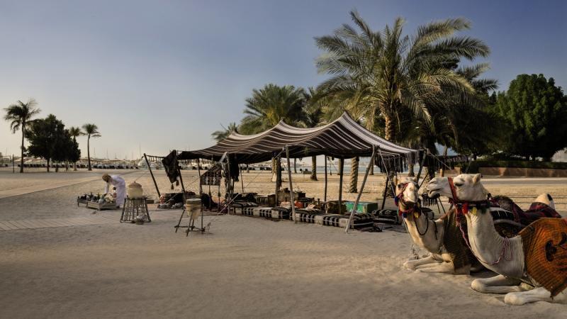 Emirates Palace Abu DhabiStrand