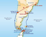Antarktis & Südamerika Rundreise und Baden