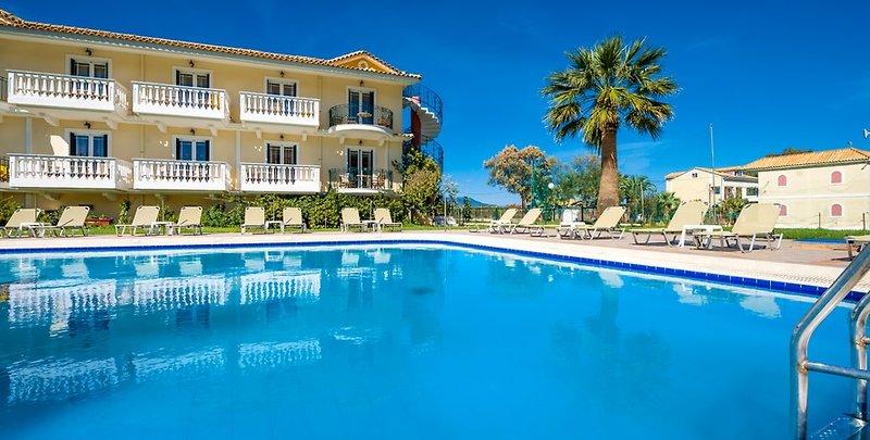 7 Tage in Laganas (Insel Zakynthos) Ilios Hotel & App.