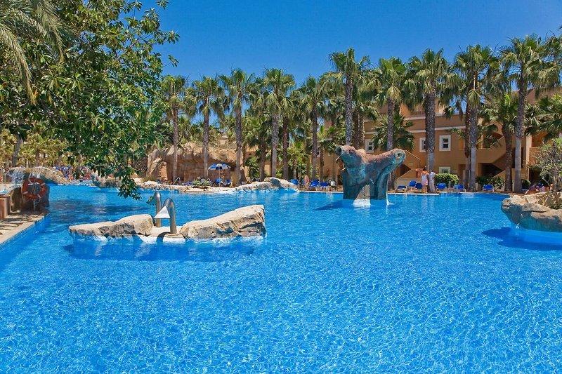 Playacapricho Hotel in Roquetas de Mar, Costa de Almería P