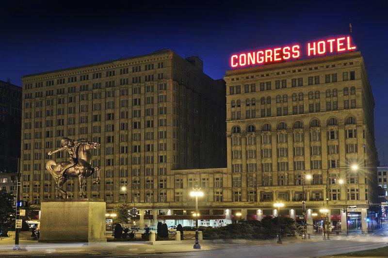 Congress Plaza in Chicago, Illinois A