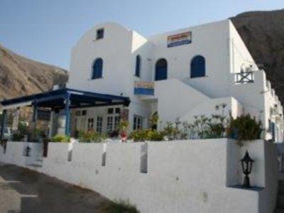 Ancient Thera Studios und Restaurant in Perissa, Santorin A