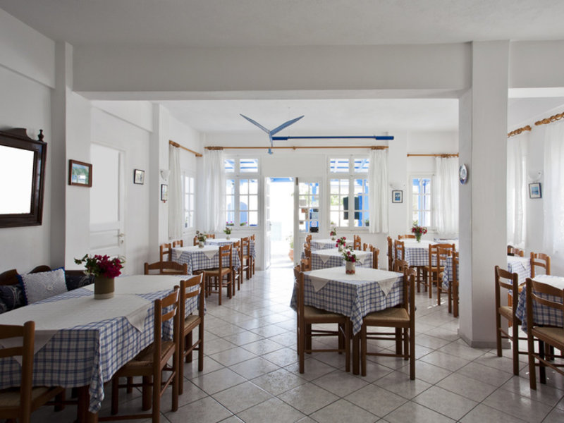 Ancient Thera Studios und Restaurant in Perissa, Santorin R
