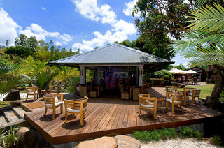 Hotel Lakaz Chamarel Exclusive Lodge Terasse