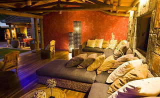 Hotel Lakaz Chamarel Exclusive Lodge Lounge/Empfang
