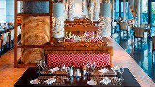 Hotel Le Meridien Al Aqah Beach Resort Restaurant