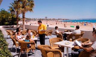 Hotel Golden Donaire Beach Terasse