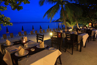 Hotel The Fair House Beach Resort Terasse