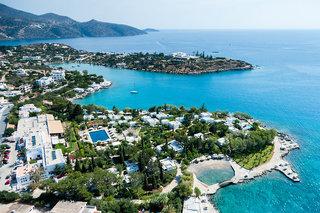 Hotel Minos Beach Art Luftaufnahme