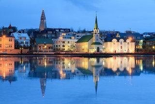 Hotel Arctic Comfort Stadtansicht