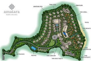 Hotel Amatara Resort & Wellness Landkarte