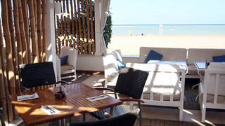 Hotel Jaz Aquamarine Resort Terasse