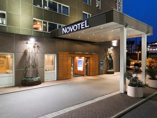 Hotel Novotel Frankfurt City Außenaufnahme