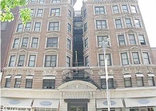Hotel Amsterdam Court New York Außenaufnahme