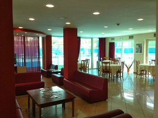 Hotel Apogeo Lounge/Empfang