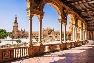 Hotel Standortrundreise Andalusien 4* Stadtansicht