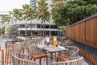 Hotel Chatrium Riverside Bangkok Terasse