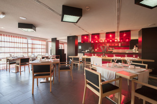 Hotel Hipotels Mediterraneo - Erwachsenenhotel ab 18 Jahren Restaurant