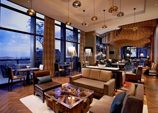 Hotel Carlton City Lounge/Empfang