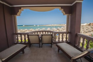 Hotel SENTIDO Mamlouk Palace Resort Terasse