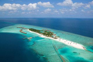 Hotel Veligandu Island Resort Luftaufnahme