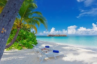Hotel Angaga Island Resort & Spa Strand
