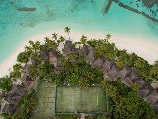 Hotel Angaga Island Resort & Spa Luftaufnahme