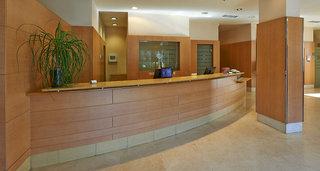 Hotel NH Porta de Barcelona Lounge/Empfang