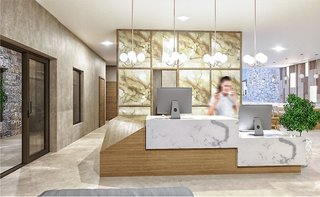 Hotel Petousis Hotel & Suites Lounge/Empfang