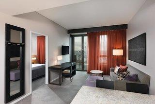 Hotel Adina Apartment Hotel Frankfurt Neue Oper Wohnbeispiel