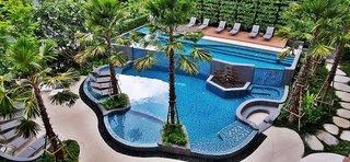 Hotel Amber Pattaya Luftaufnahme
