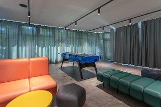 Hotel a&o Berlin Kolumbus Lounge/Empfang