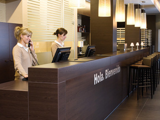 Hotel NH Berlin Potsdamer Platz Lounge/Empfang