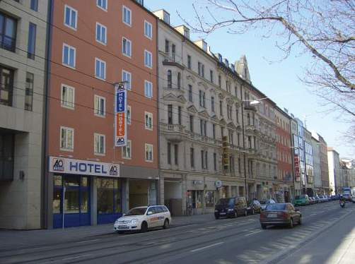 a&o City Hotel Hauptbahnhof München