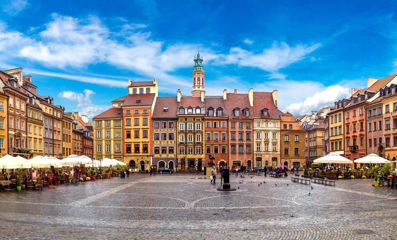 Warsaw Plaza Hotel Stadtansicht