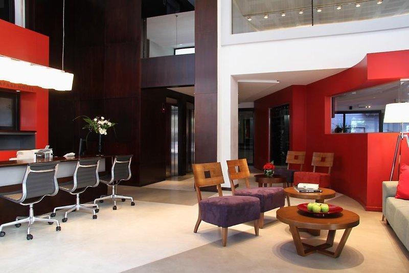 Monserrat Apart Hotel Lounge/Empfang