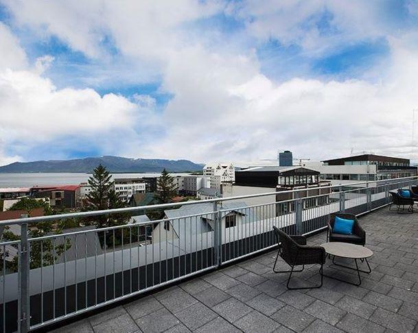 Alda Hotel Reykjavik Außenaufnahme