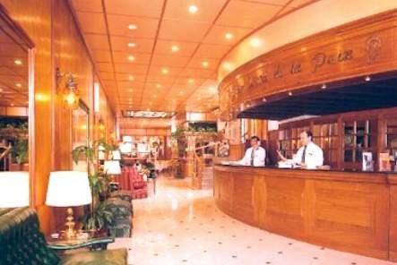 Grand Hotel de La Paix Lounge/Empfang