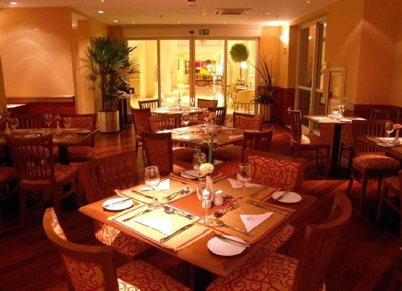 Marriott Executive Apartments Sao Paulo Restaurant