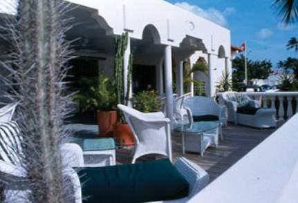 Bucuti & Tara Beach Resorts - Erwachsenenhotel Terrasse