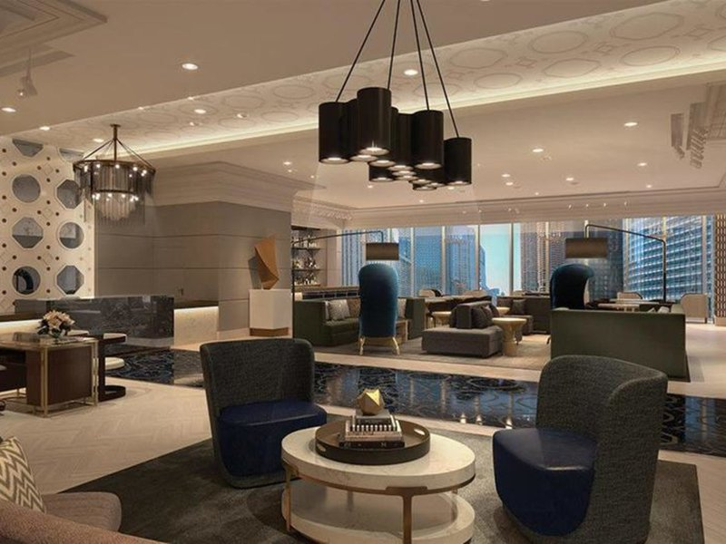 Londonhouse Chicago, Curio Collection By Hilton Lounge/Empfang
