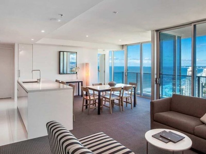 Hilton Surfers Paradise Residences Wohnbeispiel