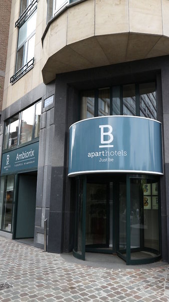 B-Aparthotel Ambiorix Außenaufnahme