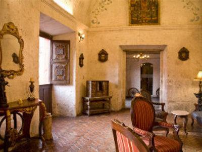 Hotel San Agustin Posada del Monasterio Lounge/Empfang