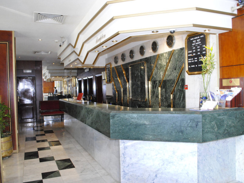 Ramee Guestline Hotel Lounge/Empfang