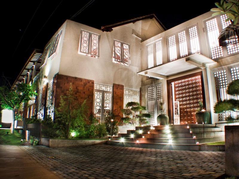 Abian Biu Mansion Außenaufnahme