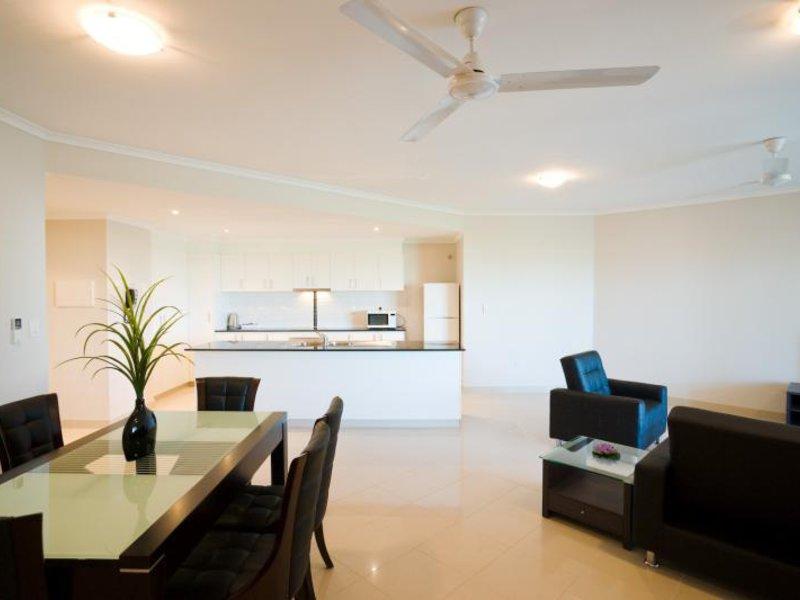 Argus Apartments Darwin Lounge/Empfang