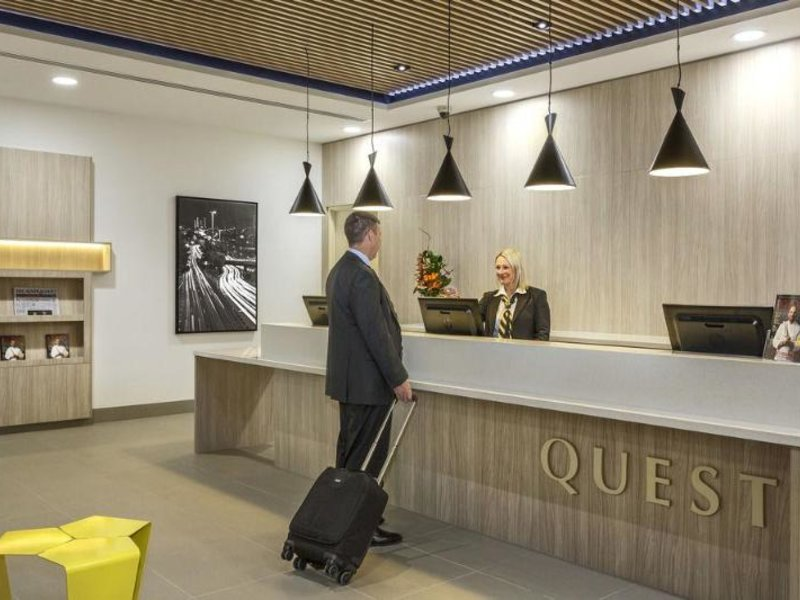 Quest Woolloongabba Lounge/Empfang