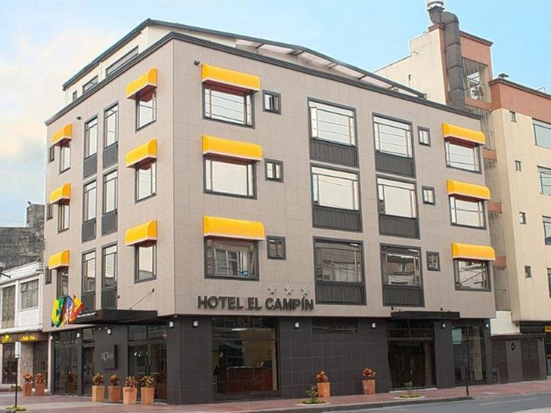 Hotel el Campin Außenaufnahme