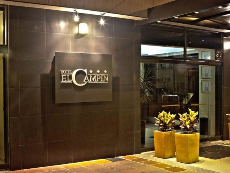Hotel el Campin Lounge/Empfang